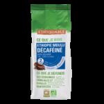 Café moulu décaféiné sans solvant, pure origine Ethiopie BI